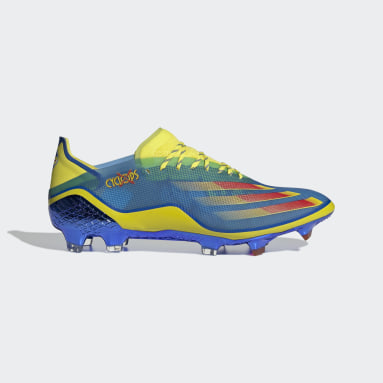 Men Football Blue Marvel X Ghosted.1 Firm Ground Boots