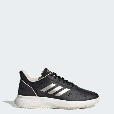 Women Tennis Black Courtsmash Shoes