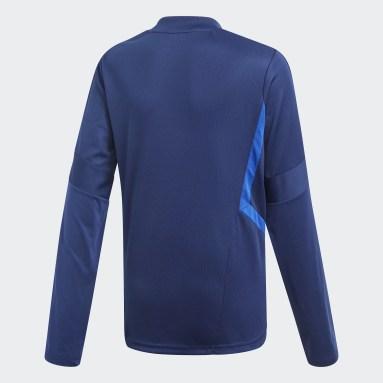 Bluza treningowa Tiro 19 Niebieski