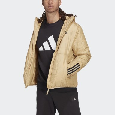 Itavic 3-Stripes Light Hooded Jacket Beżowy