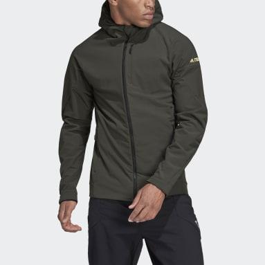 Mænd TERREX Grøn Terrex Hi-Loft Hooded Soft Shell jakke