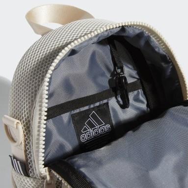 Women's Training Beige Air-Mesh Mini Backpack