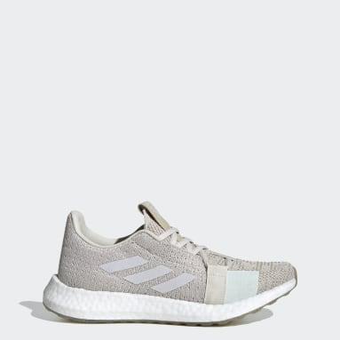 ผู้หญิง วิ่ง สีเบจ รองเท้า Senseboost GO