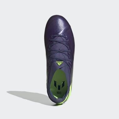 Boys Football Blue Nemeziz Messi 19.1 Firm Ground Boots