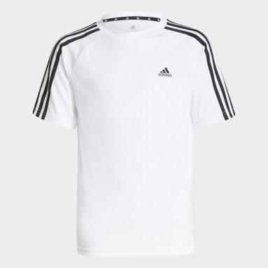 Kluci Fotbal bílá Tričko adidas Sereno AEROREADY