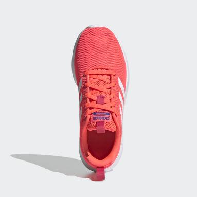 Girls Running Pink Lite Racer CLN Shoes