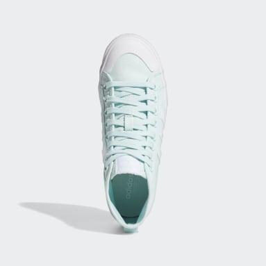 Women's Originals Green Nizza Platform Mid Shoes