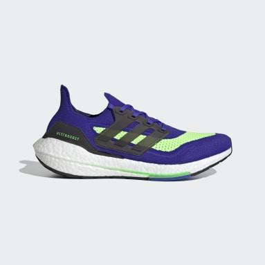 Zapatillas Ultraboost 21 Azul Hombre Running