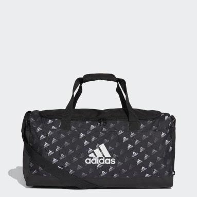 Volleyball Multicolour Linear Graphic Duffel Bag