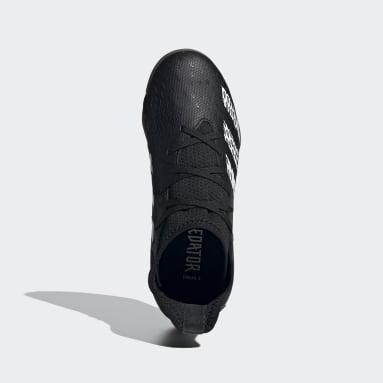Børn Futsal Sort Predator Freak.3 Indoor støvler