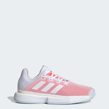 Women Tennis White SoleMatch Bounce Hard Court Shoes