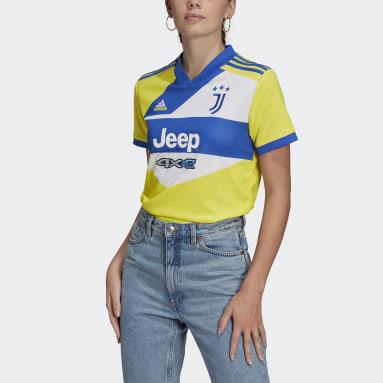 Dames Voetbal Geel Juventus 21/22 Derde Shirt