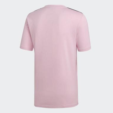 Camiseta Campeón 19 Rosa Hombre Fútbol
