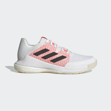 Women Table Tennis White CrazyFlight Tokyo Volleyball Shoes