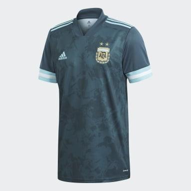 Men Football Blue Argentina Away Jersey
