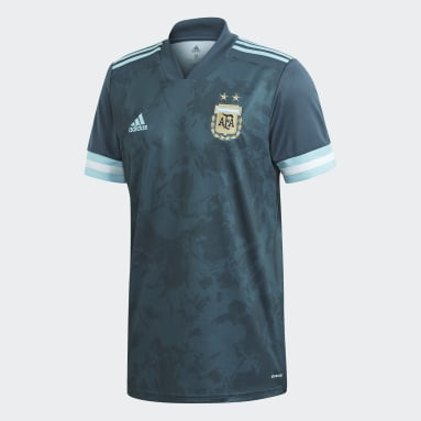 Jersey Visitante Argentina Azul Hombre Fútbol