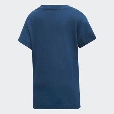 Playera Trifolio (UNISEX) Azul Niño Originals