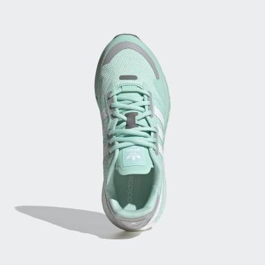 Women's Originals Turquoise ZX 1K Boost Shoes