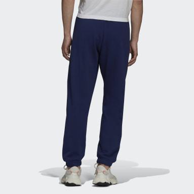 Men Originals Blue Adicolor Shattered Trefoil Sweat Pants