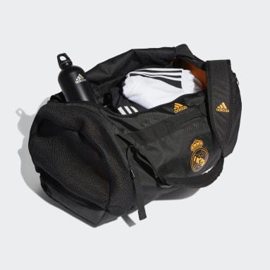 Fotbal černá Taška Real Madrid Duffel Medium