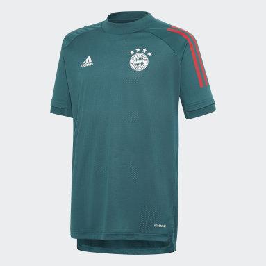 Maillot d'entraînement FC Bayern Vert Enfants Football