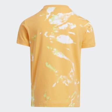 Children Originals Orange All Day I Dream About Tie-Dye Tee