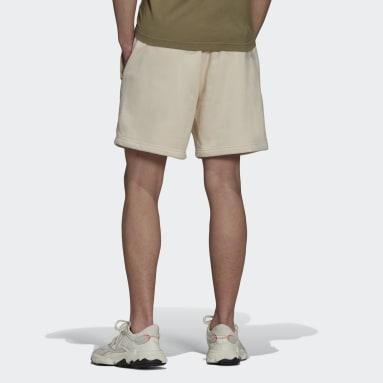 Men Originals White Adicolor Trefoil Shorts