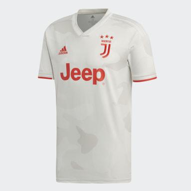 Men Football White Juventus Away Jersey