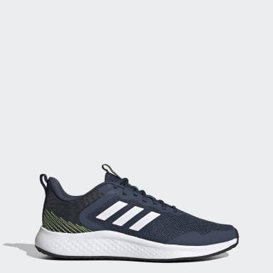 Men Running Blue Fluidstreet Shoes