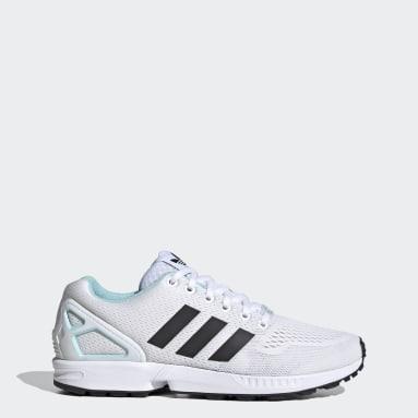 Women Originals White ZX Flux Shoes