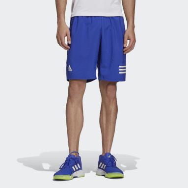 Men's Tennis Blue Club Tennis 3-Stripes Shorts