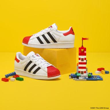 Chaussure adidas Superstar 360 x LEGO® blanc Adolescents Originals