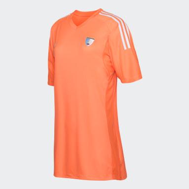 Camiseta de Arquera LEONAS Naranja Hombre Hockey