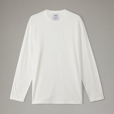 T-shirt Logo Y-3 CL Blanc Hommes Y-3