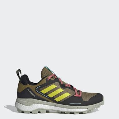 Men TERREX Brown Terrex Skychaser 2.0 Hiking Shoes