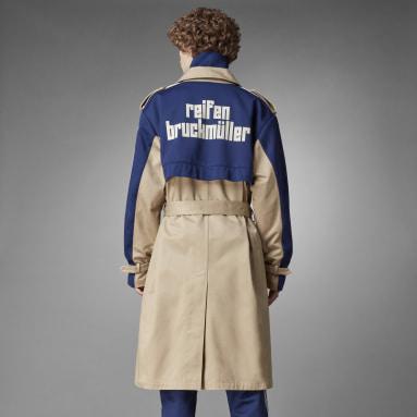 Men Originals Brown Blue Version Trench Coat
