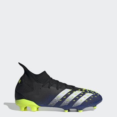Men Football Black Predator Freak.2 Firm Ground Boots
