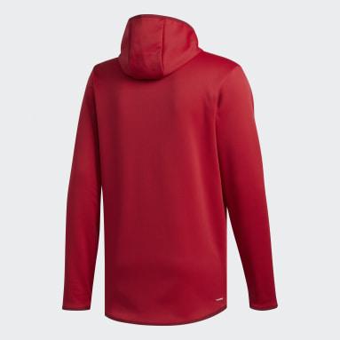 Men's Sportswear Burgundy Team Issue Badge of Sport Hoodie