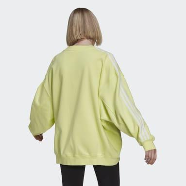 Sudadera Adicolor Classics Oversized Amarillo Mujer Originals
