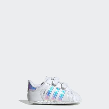 Sapatos Superstar Branco Raparigas Originals