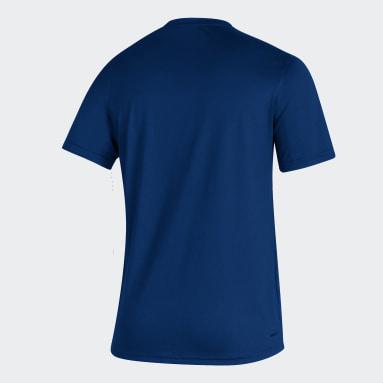 T-shirt Oilers Creator Bleu Hommes Hockey