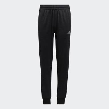 Youth Training Black Focus Joggers