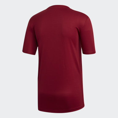 Men's Soccer Burgundy Striped 19 Jersey