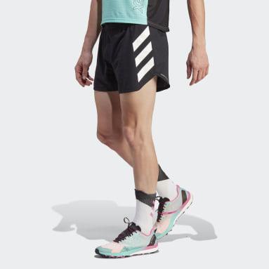 Men TERREX Black Terrex Agravic Pro Trail Running Shorts