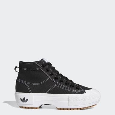 Women Originals Black Nizza Trek Shoes