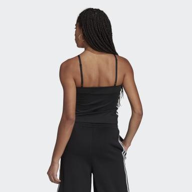 Kadın Originals Siyah Corset Üst