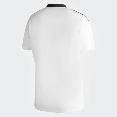 Polo con Cuello de Entrenamiento Sporting Cristal Blanco Hombre Fútbol