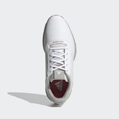 Golf S2G Spikeless Leather Golfschuh Weiß