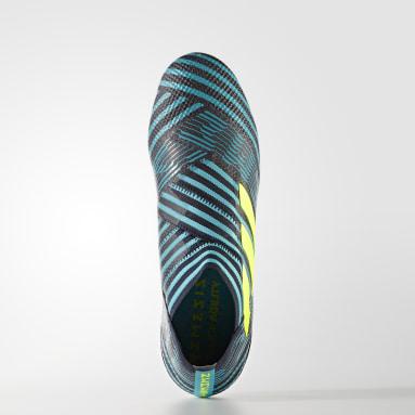 Calzado de Fútbol Nemeziz 17+ 360 Agility Terreno Firme Azul Hombre Fútbol