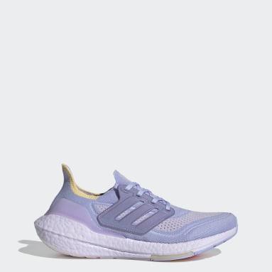 Zapatilla Ultraboost 21 Violeta Mujer Running